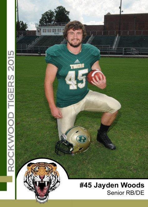 rockwood high school football alumni association player of